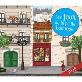 Carnet de jeux - Le Petit Vampire du Bac à Sable - PDF
