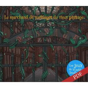 Carnet de jeux - Le marchand de sortilèges du vieux passage - PDF