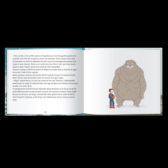 votre enfant va rencontrer l'abominable bonhomme de neige
