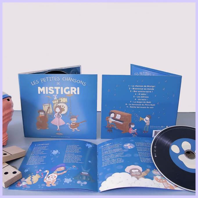 Album de chansons pour enfants