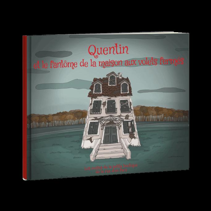 PRENOM et le fantôme de la maison aux volets fermés (pdf)