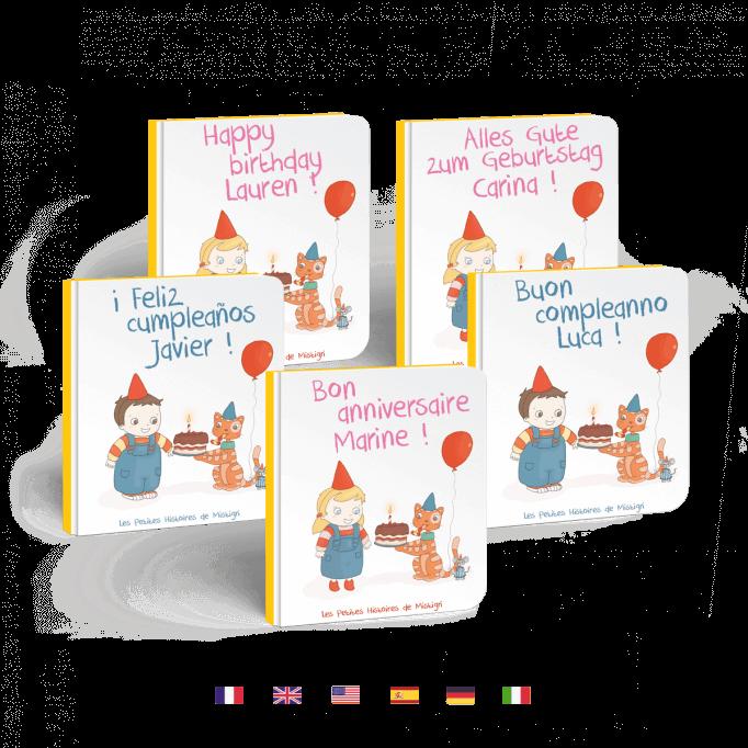 Bon anniversaire en 5 langues