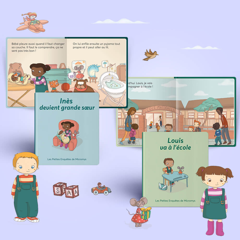 Livres Histoires Personnalises Pour Les Enfants De 2 A 5 Ans Les Enfants Roy
