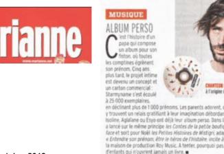Le magazine Marianne a aimé