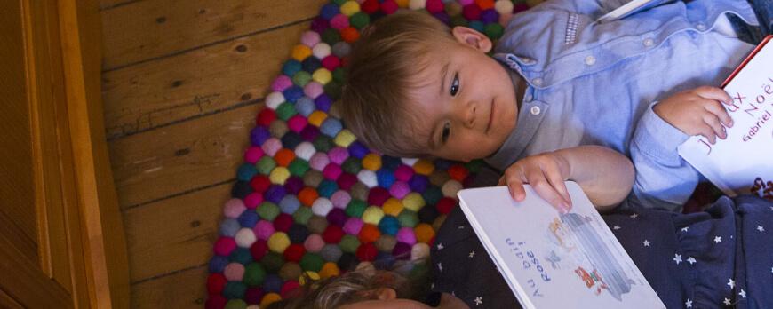 Le livre Devenir grande soeur : un cadeau original et ludique