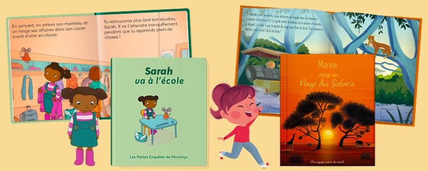 Le livre personnalisable : un cadeau unique